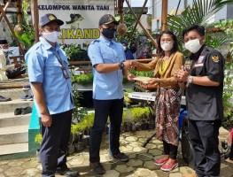 KWT Srikandi Ikuti Lomba Adhikarya Nusantara Tahun 2021 Tingkat Kabupaten Sleman